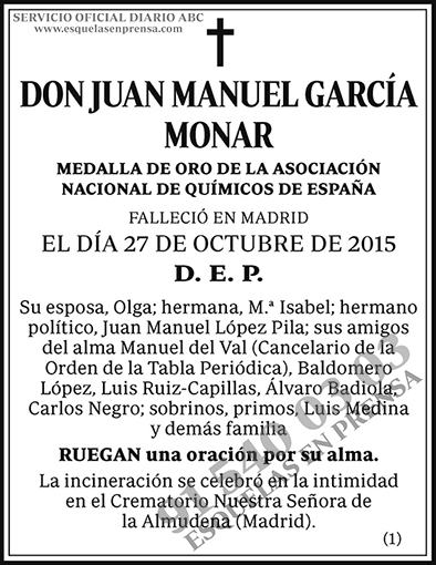 Juan Manuel García Monar